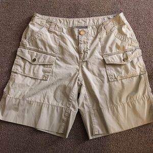 Pants - London jeans kaki shorts size 8
